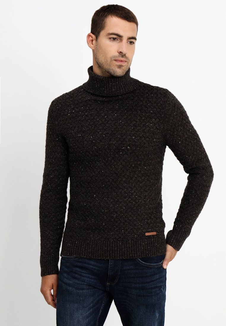 Pier One - Strikpullover /Striktrøjer - mottled brown
