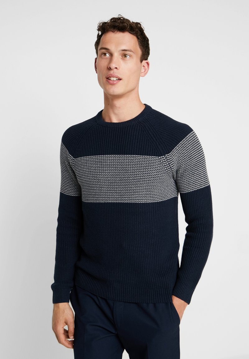 Pier One - Jumper - dark blue
