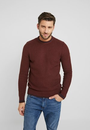 Maglione - mottled red
