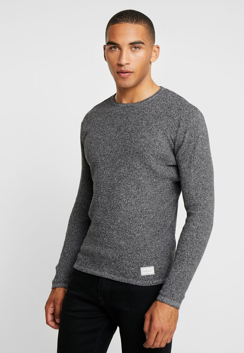 Pier One - Strickpullover - mottled light grey