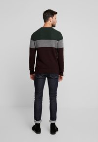Pier One - Sweter - bordeaux - 2