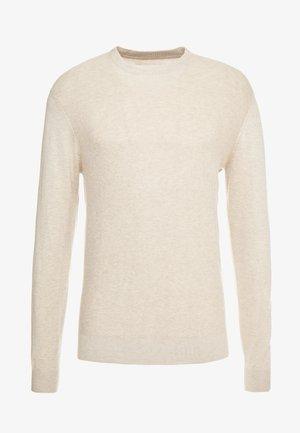 Maglione - mottled beige
