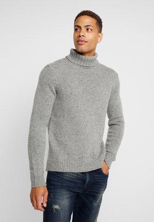 BASIC NEPPY TURTLENECK - Trui - mottled grey