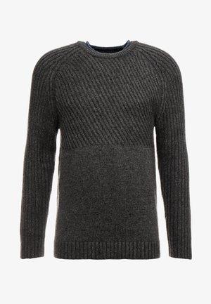 Strickpullover - mottled grey