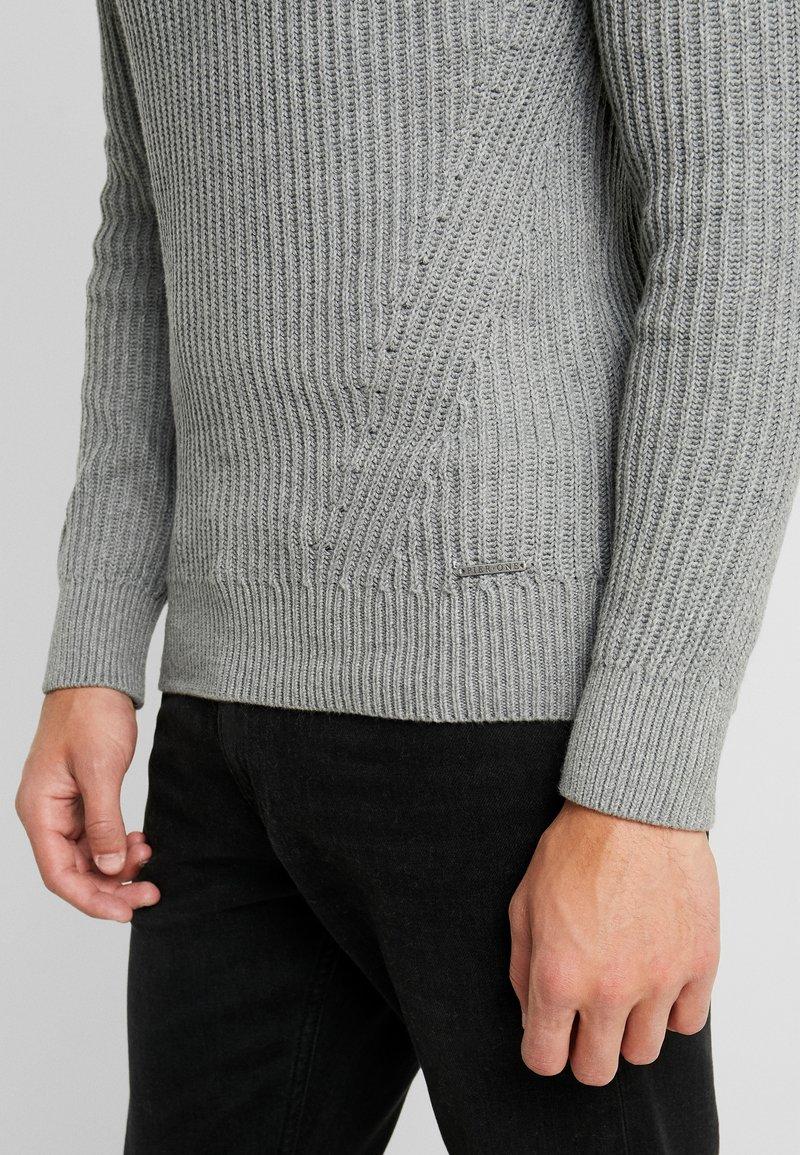 Pier One Strikkegenser - mottled grey