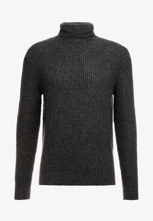 Jersey de punto - mottled dark grey