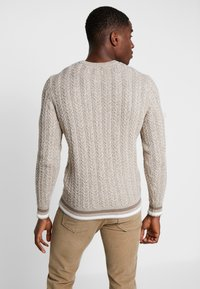 Pier One - Pullover - mottled beige - 2