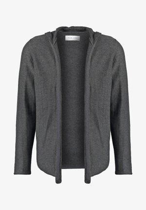 Neuletakki - mottled dark grey