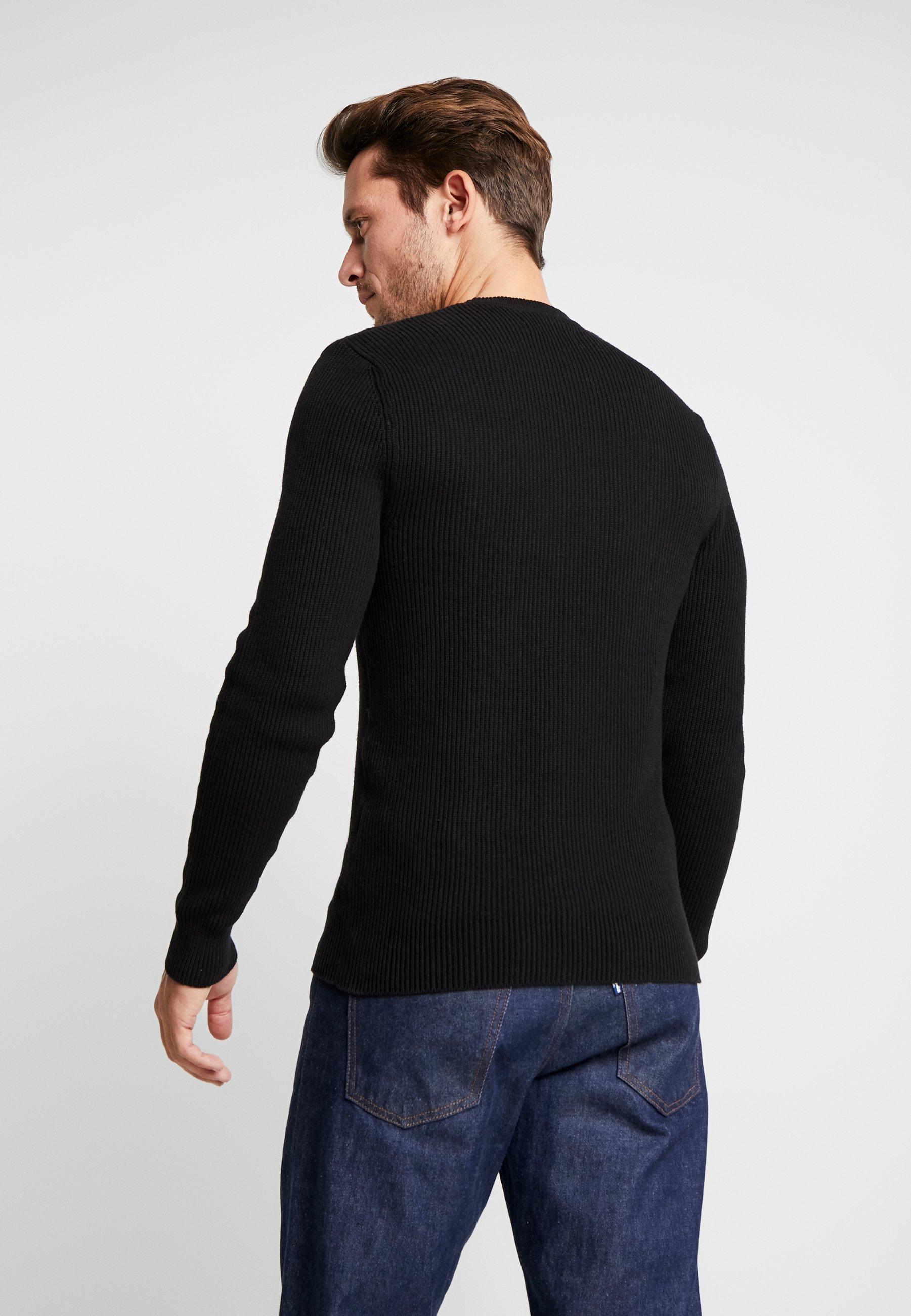 Pier One Sweter - black