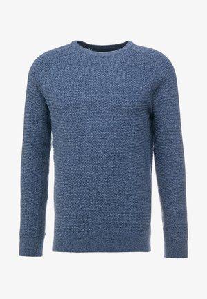 Maglione - mottled blue