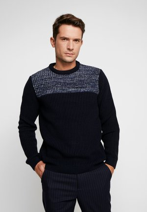Jumper - dark blue/blue