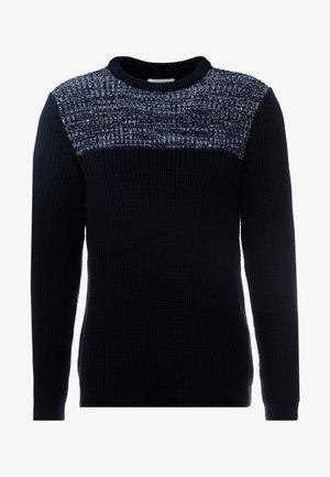 Sweter - dark blue/blue