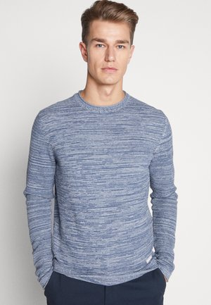 Jumper - mottled light blue