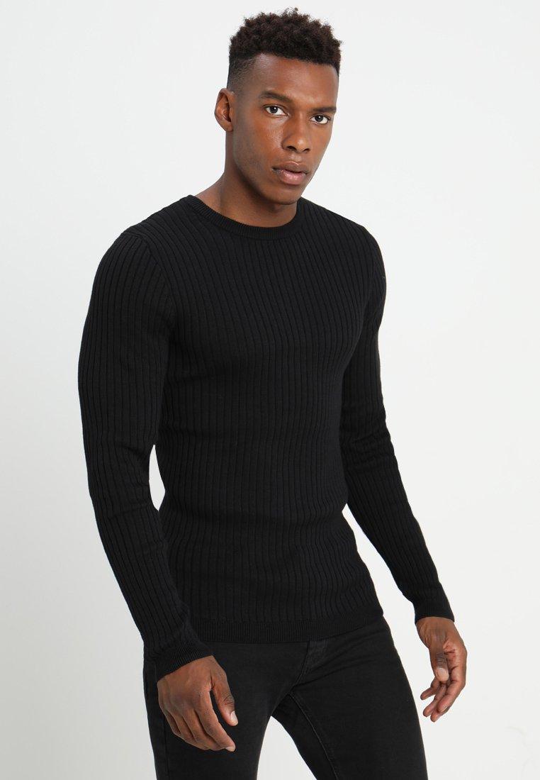 Da Uomo Designer Taglio Lungo Cotone T-Shirt Da Brave Soul con Cerniera Anteriore Girocollo Nuovo XS-L