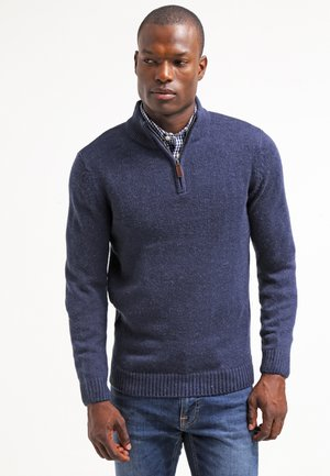 Pullover - blue melange