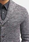 Pier One - Gilet - dark grey melange