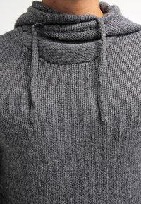 Pier One - Hoodie - dark grey melange - 4