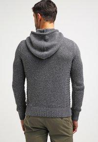 Pier One - Hoodie - dark grey melange - 2