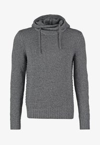 Pier One - Hoodie - dark grey melange - 7