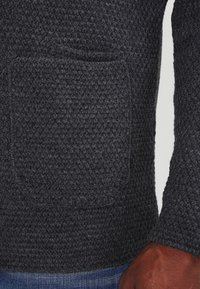 Pier One - Strikjakke /Cardigans - mottled dark grey - 4