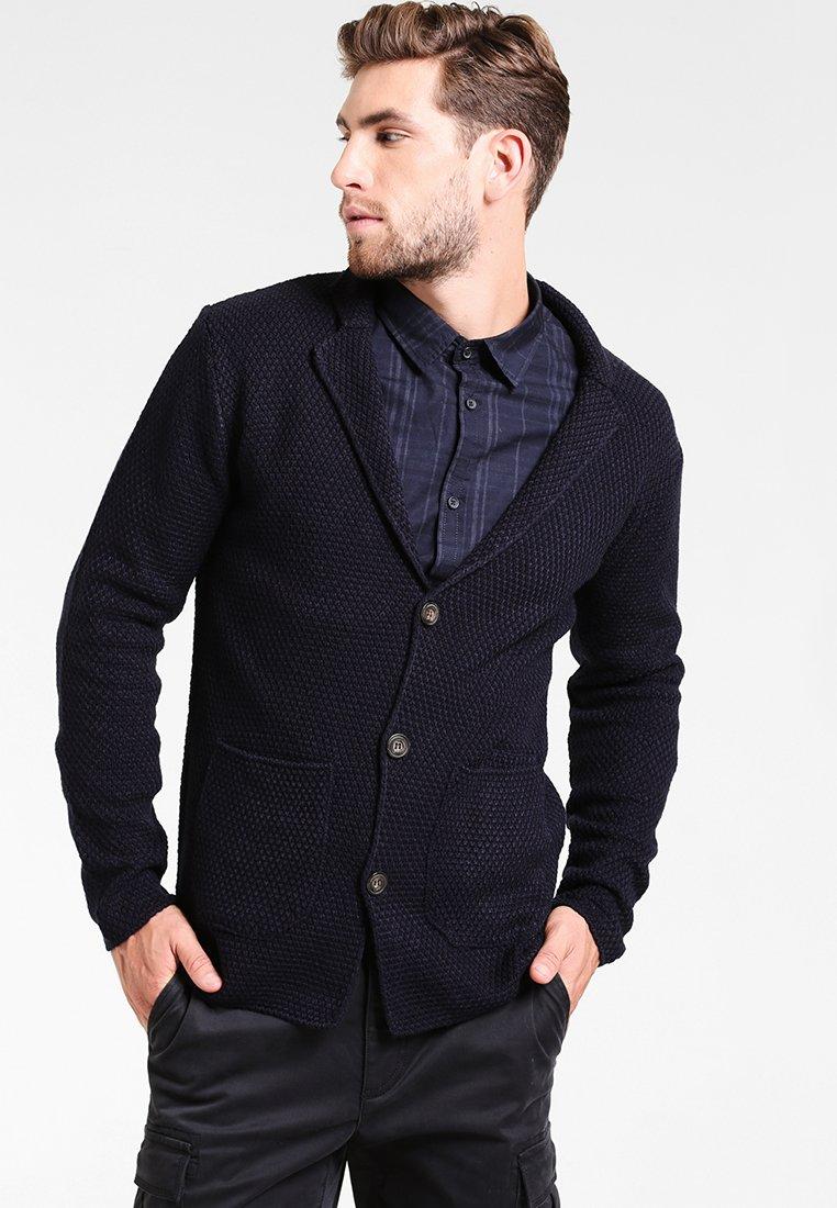 Pier One - Blazer jacket - dark blue