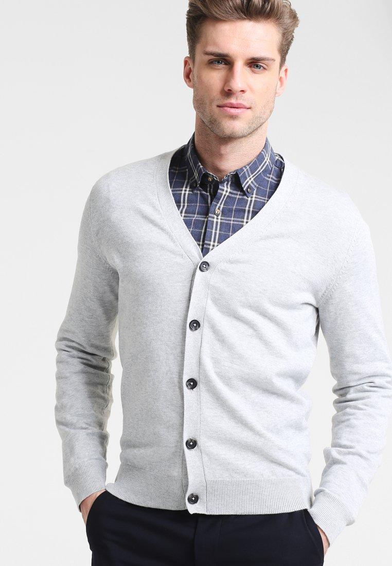 Pier One - Cardigan - light grey melange