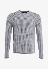 Pier One - Jumper - mottled grey/anthracite - 4