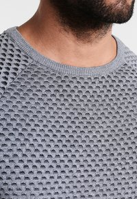 Pier One - Jumper - mottled grey/anthracite - 3