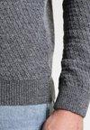 Pier One - Strickpullover - mottled grey