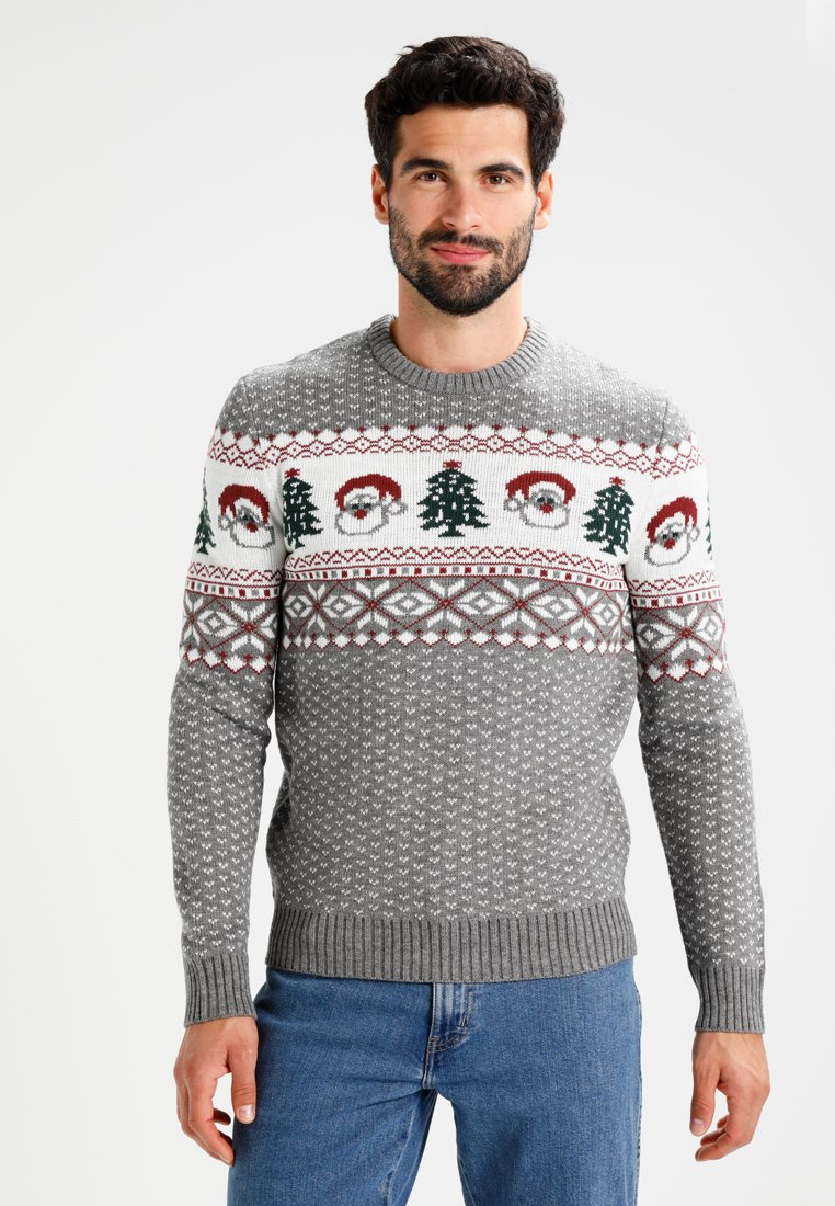 Pier One - Jumper - grey melange