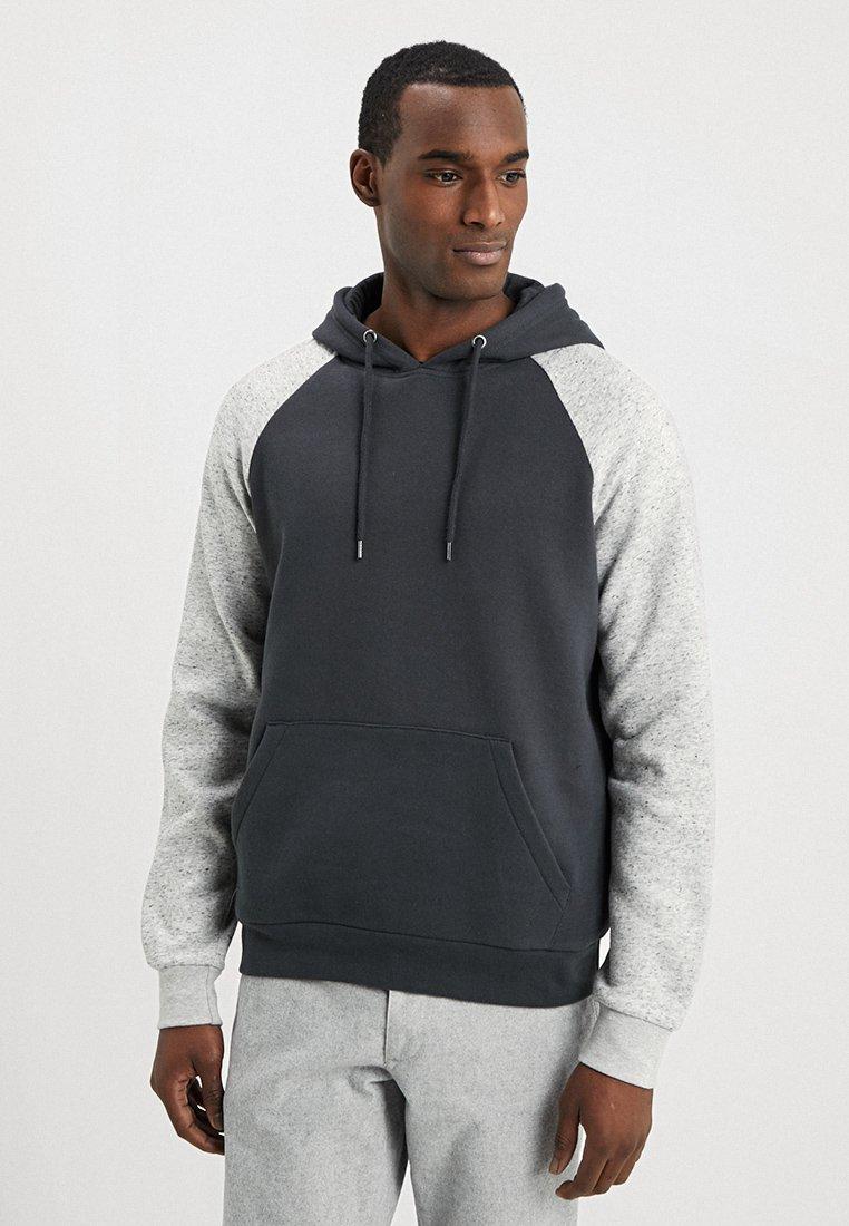Pier One - Jersey con capucha - mottled light grey