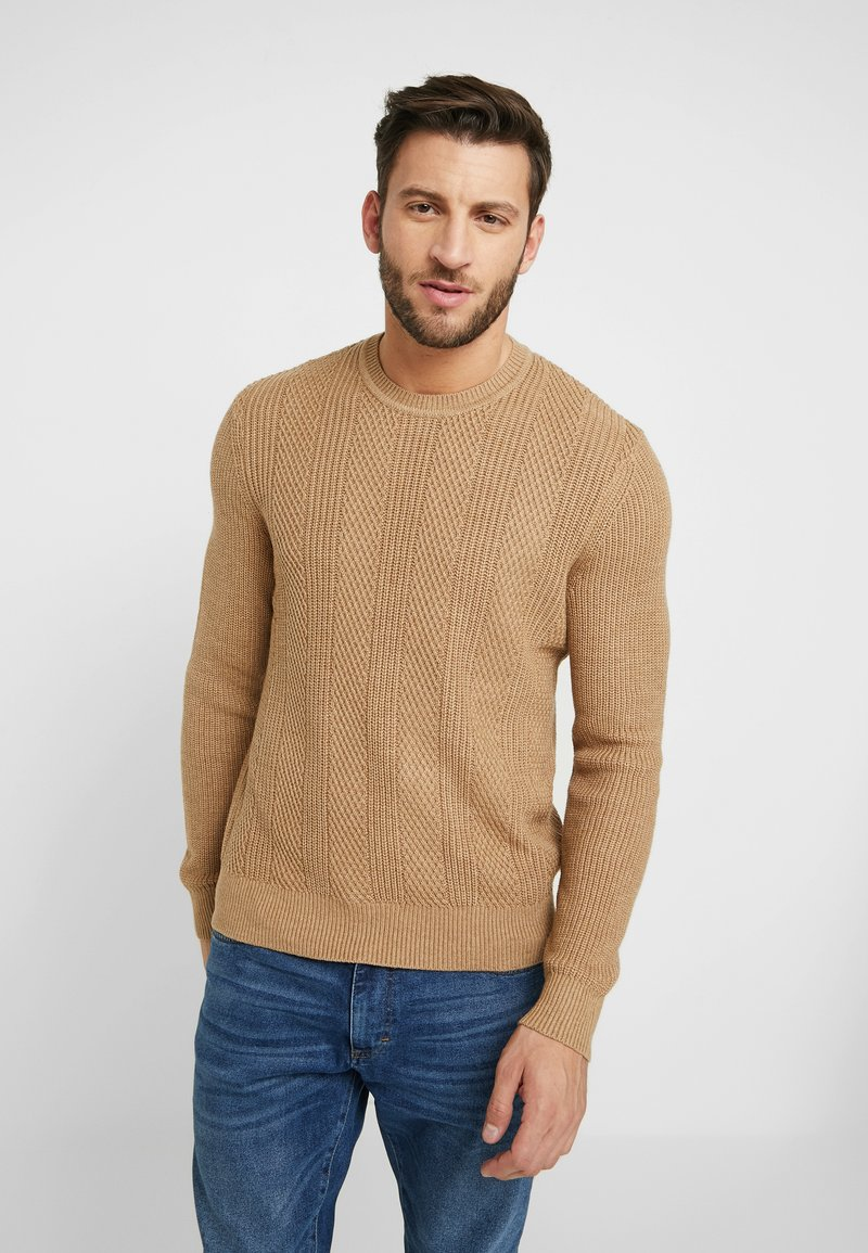 Pier One - Sweter - camel