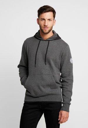 CORE HOODY  - Hoodie - mottled dark grey