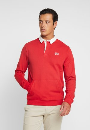 RUGBY WITH HIDD - Sweatshirt - red