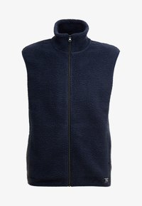 Pier One - Waistcoat - dark blue - 3