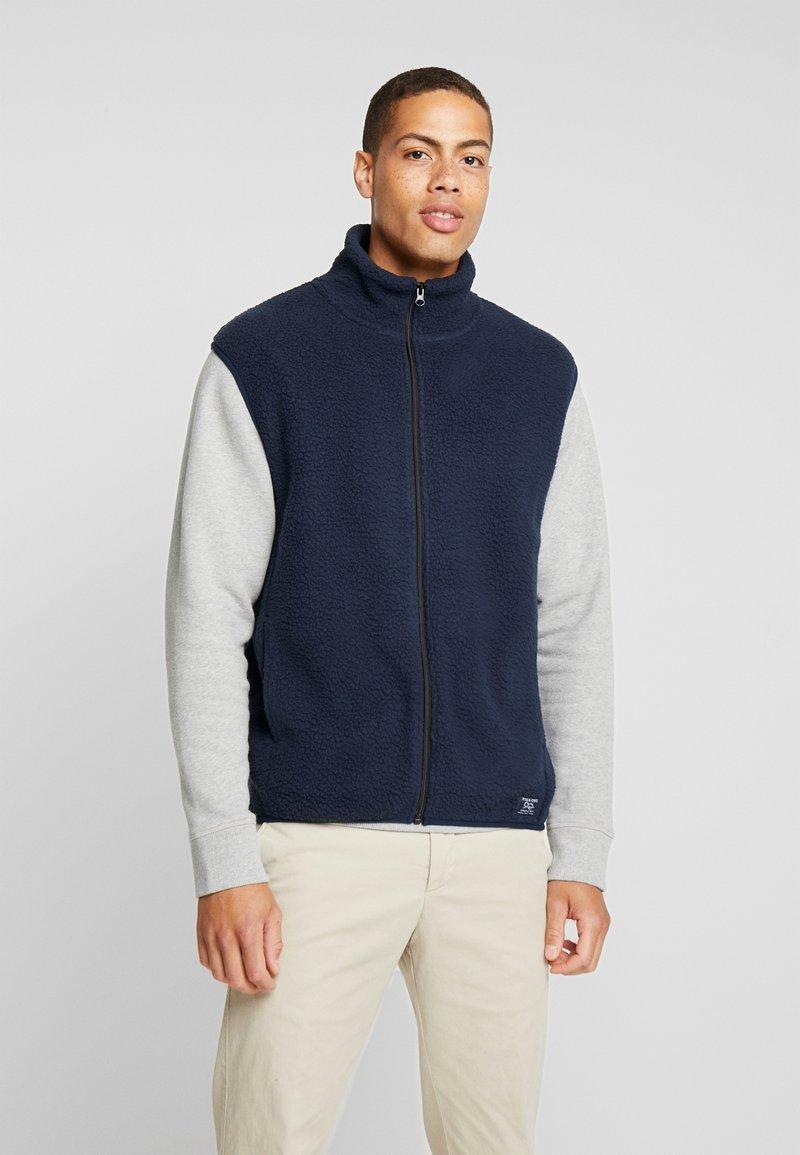 Pier One - Waistcoat - dark blue