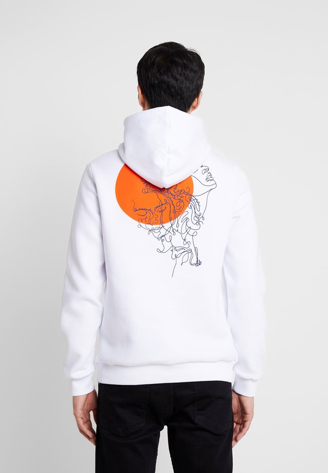 Kapuzenpullover - white