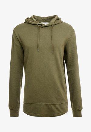 Jersey con capucha - olive