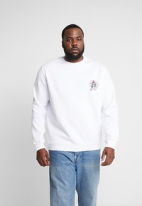 Pier One - PRINTED CREW  - Sweatshirt - white - 2