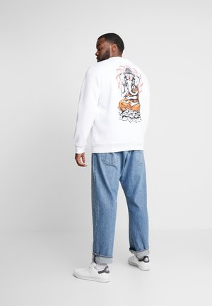 PRINTED CREW  - Sweater - white