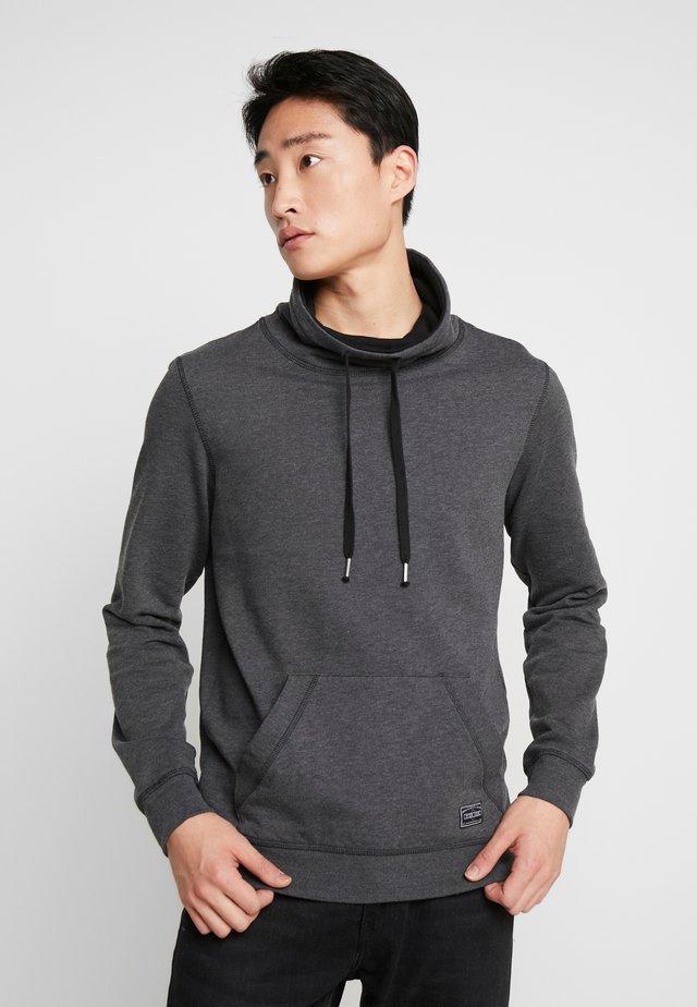 Collegepaita - mottled dark grey