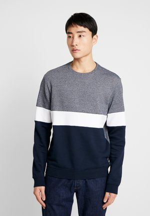 Sweatshirt - white/blue