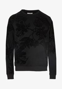 Pier One - TONAL DARK FLORAL  - Sweatshirt - black - 4