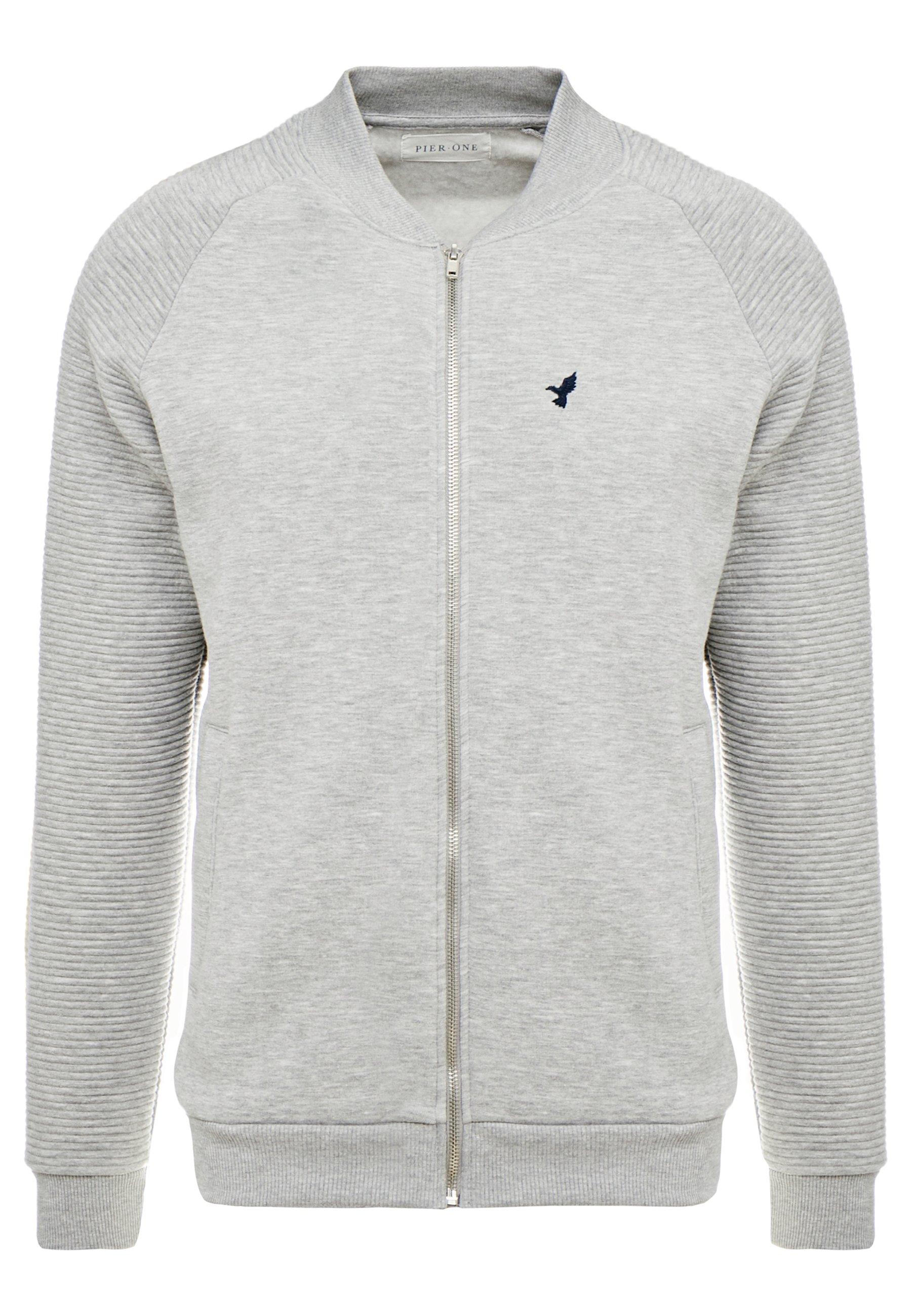 Pier One Bluza rozpinana - mottled grey