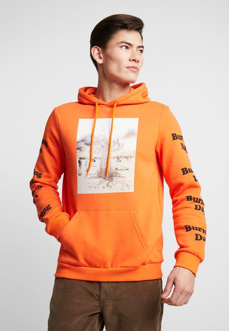 Pier One - Mikina skapucí - orange
