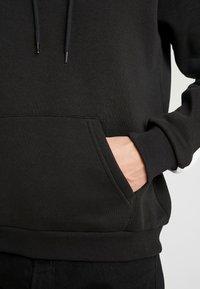 Pier One - Jersey con capucha - black - 6