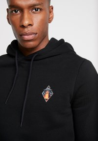 Pier One - ALIEN SWEAT HOODIE - Hoodie - black - 3