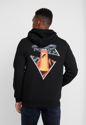 ALIEN SWEAT HOODIE - Bluza z kapturem - black