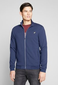 Pier One - Zip-up hoodie - dark blue - 0