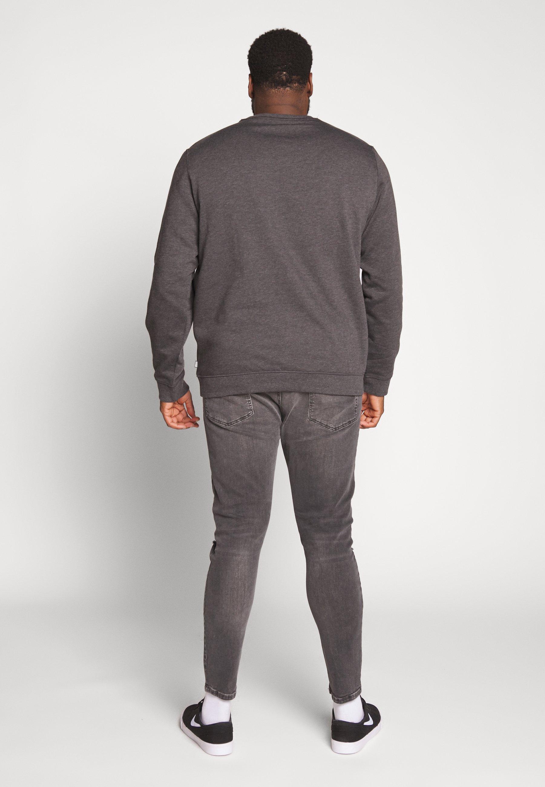 Pier One Bluza - grey melange